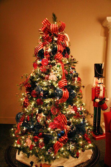 Nutcracker Christmas Tree Nutcracker Christmas Tree Christmas Tree Tops Christmas Decorations Rustic Tree