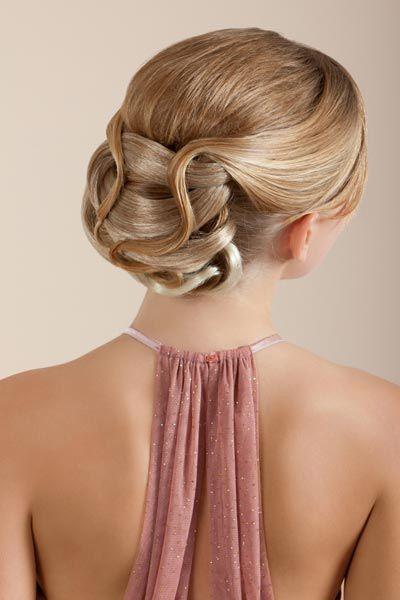 Peinados recogidos con pelo liso para fiesta Hair Style