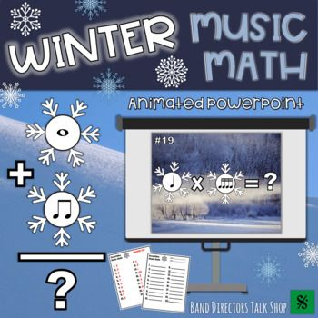 Winter Music Activities: Snowflake PowerPoint Game | Assessment in