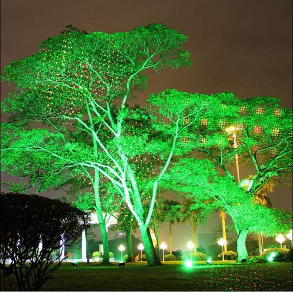 Remote Controller Waterproof Outdoor Laser Lights Firefly Stage Lighting Landscape Red Green Pro Landscape Spotlights Landscape Lighting Solar Christmas Lights
