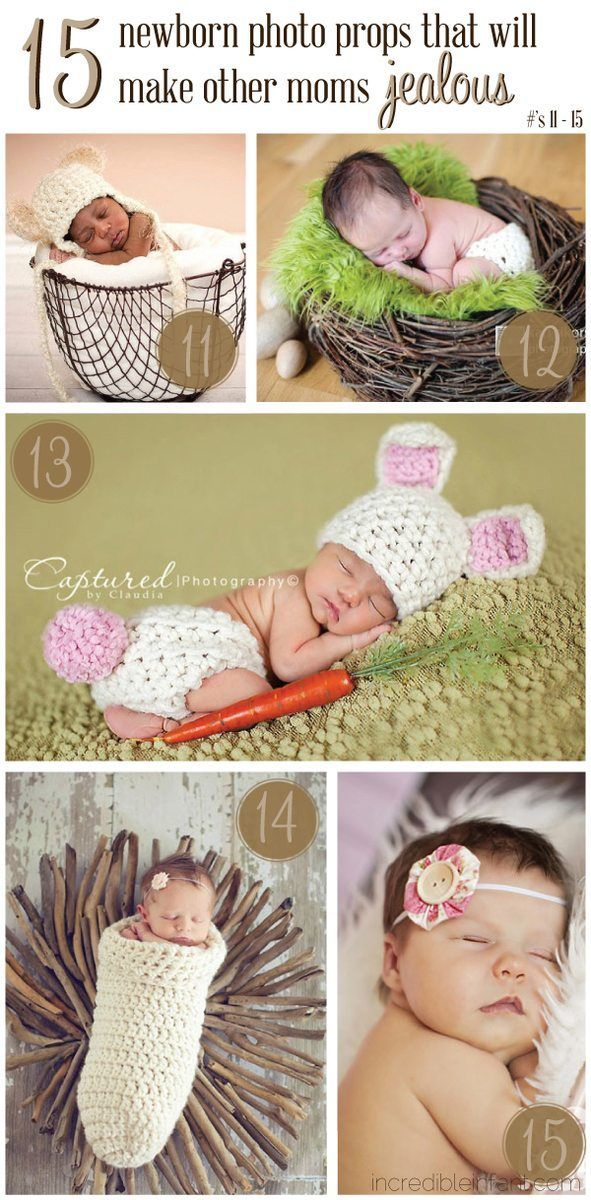 Making Newborn Photography Props