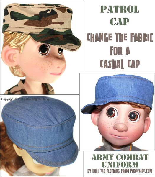Army Combat Uniform Pattern for Disney Animator Dolls   Disney ...
