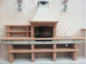Picture of barbacoa obra fregadero av2500f todo casa de for Barbacoas con fregadero