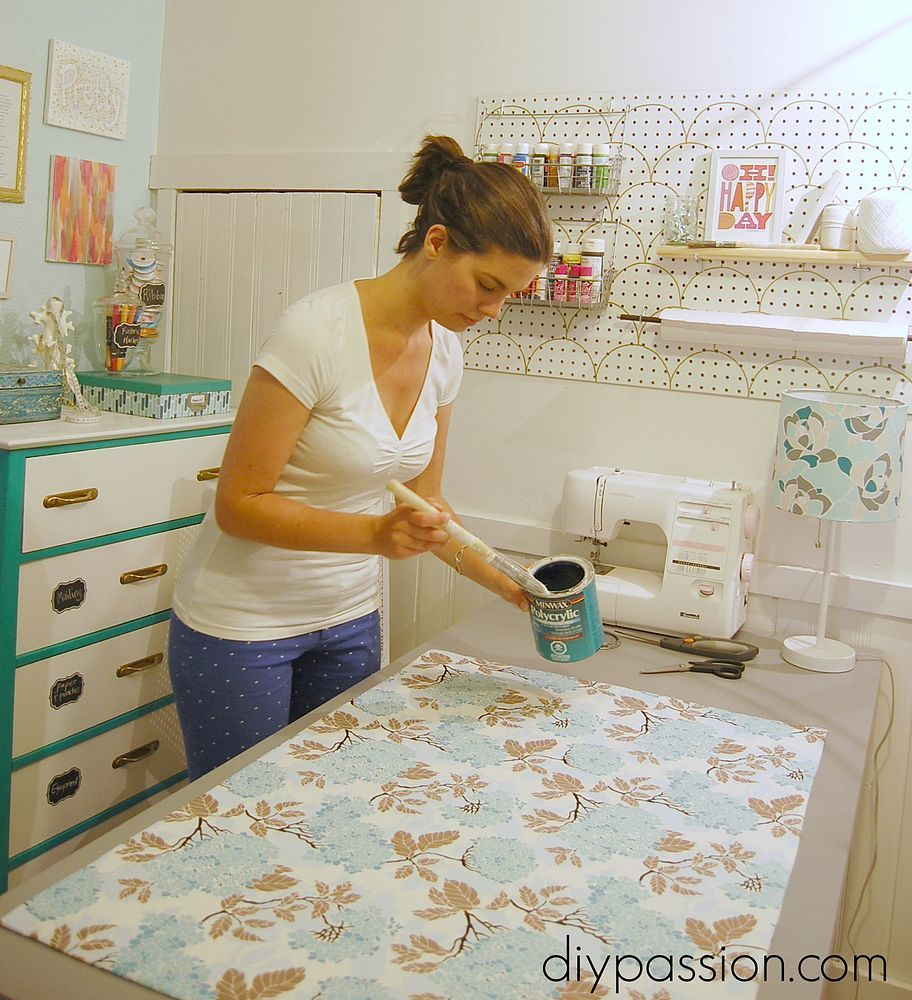How to Make Your Own Custom Kitchen Mat   Floor cloth diy, Vinyl ...