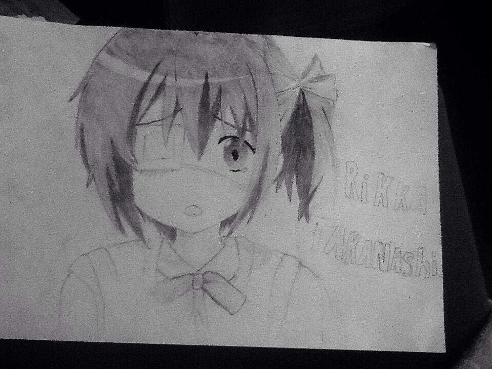 Rikka from Chuunibyou!