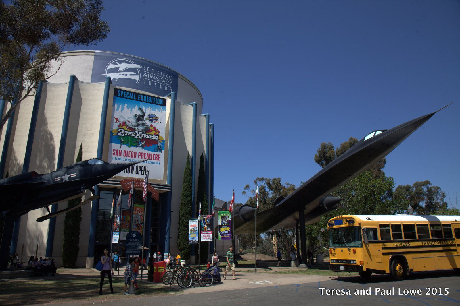 Many summer vacation programs are available for kids and families to visit the any museums like the San Diego Aerospace museum in Balboa Park, just 20 minutes away by bicycle from the Hard Rock Hotel San Diego!