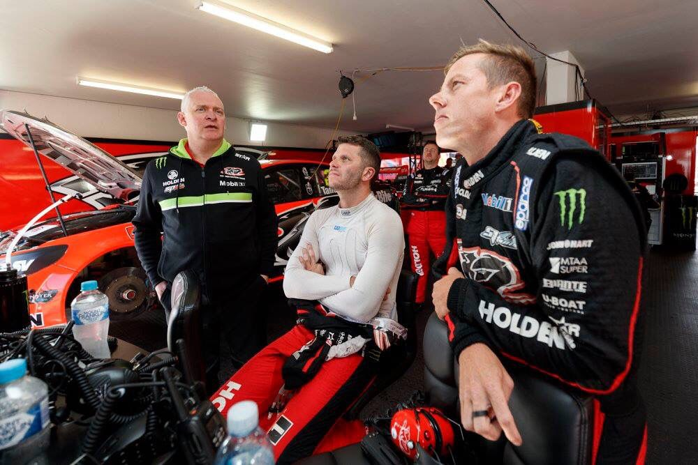 James Courtney and Garth Tander