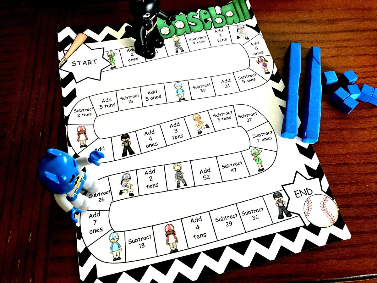 Free And Interactive Subtraction With Regrouping Game