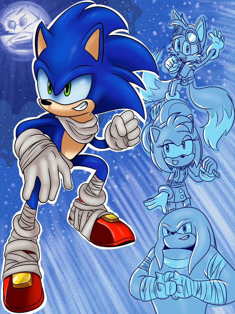 Sonic Boom By Waniramirez Deviantart Com On Deviantart Sonic The Hedgehog Sonic Sonic El Erizo
