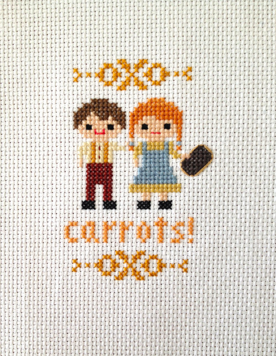 Carrots Cross Stitch Anne Of Green Gables Inspired Parody Pdf