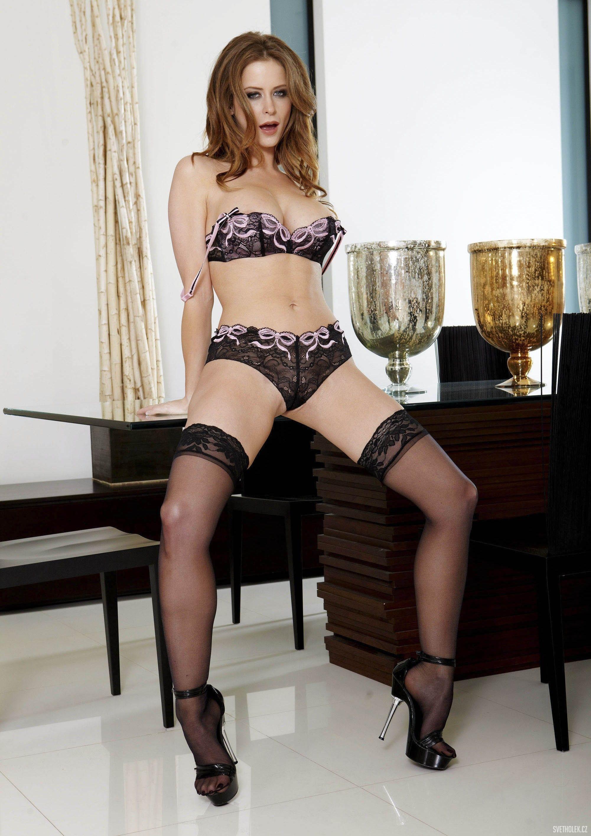 Emily addison lingerie stockings 8 hot girls for Emily addison nyc
