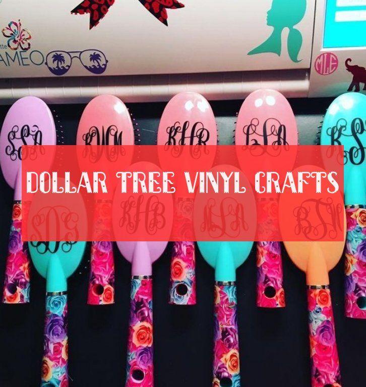 dollar tree vinyl crafts