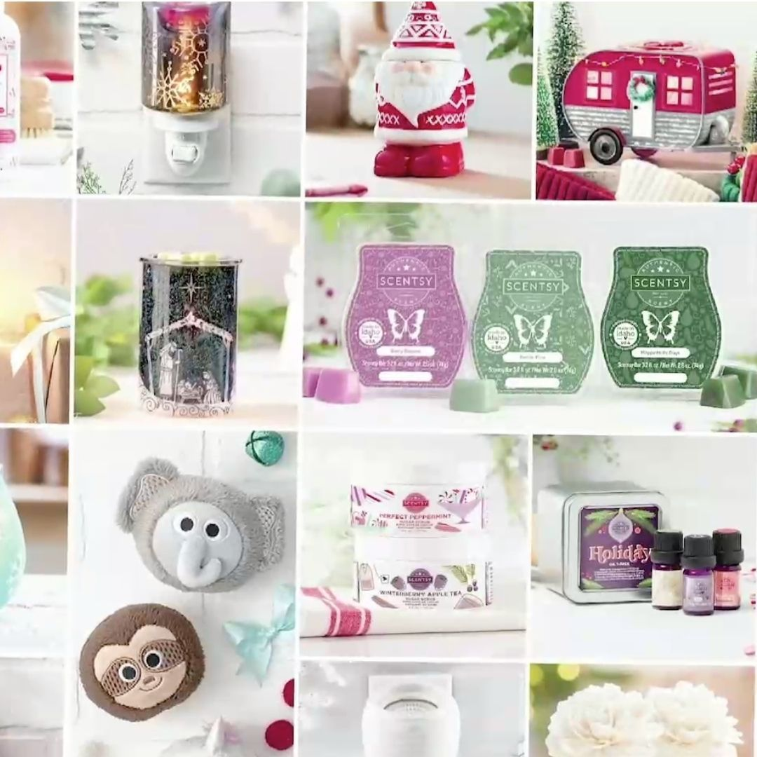 Scentsy Christmas 2020 SCENTSY HOLIDAY CHRISTMAS 2020 COLLECTION | SHOP 10/1/20 in 2020