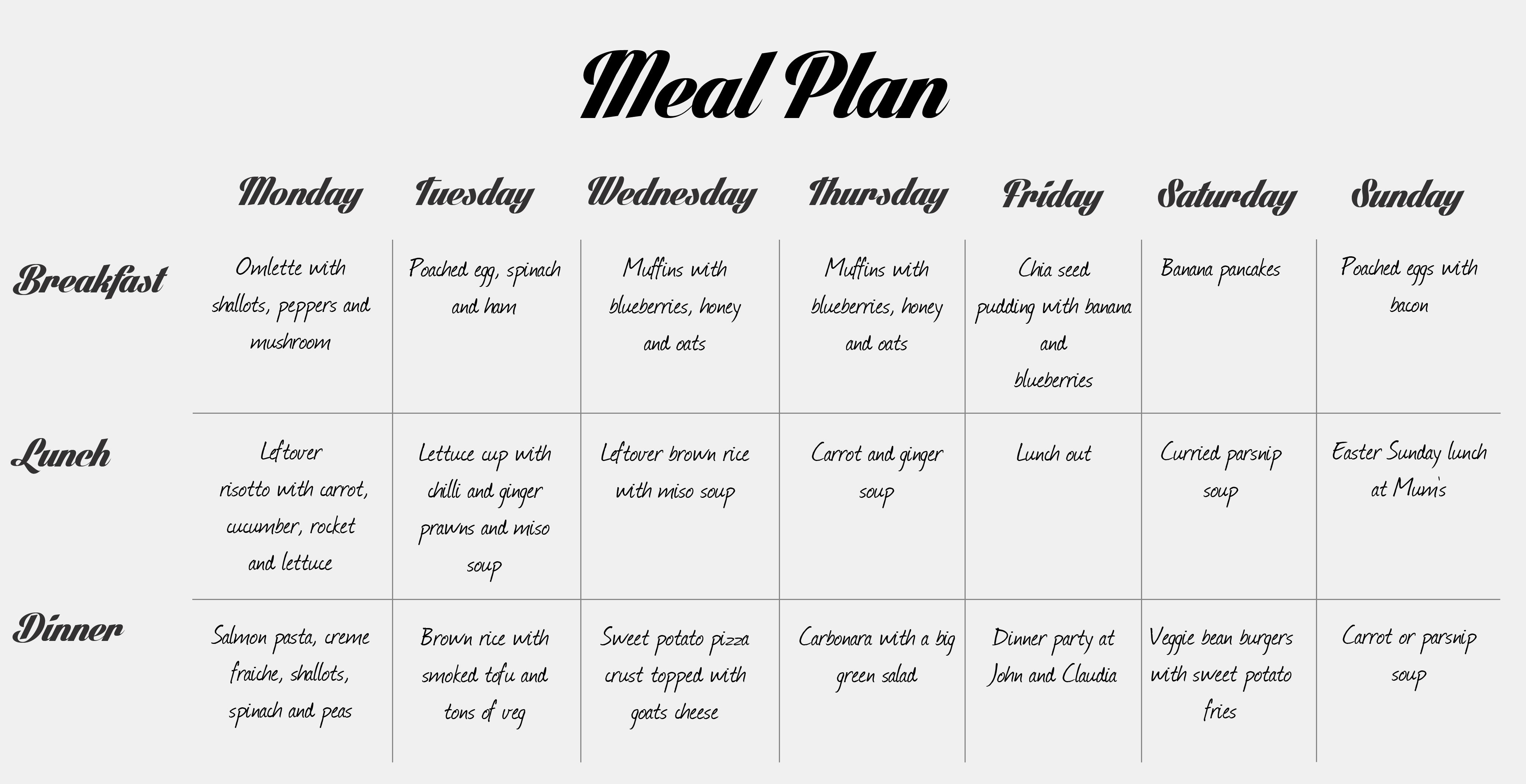 18+ Love letter chicken and pizza menu inspirations