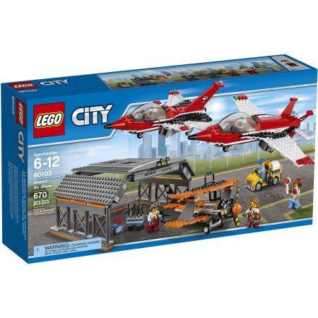 Lego City Airport Airport Air Show 60103 Walmart Com Lego City Airport Lego City Lego City Sets