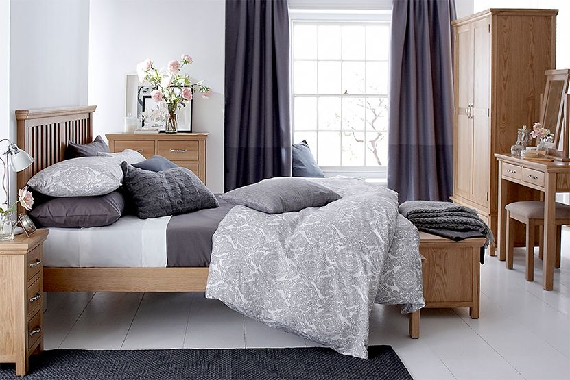 The Wansford light bedroom Range of furniture is a ...
