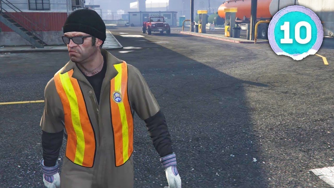 GOING UNDERCOVER Grand Theft Auto 5 Part 10 Grand