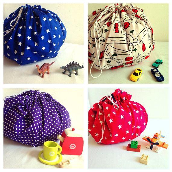 jouet lego rangement cordon sac sac