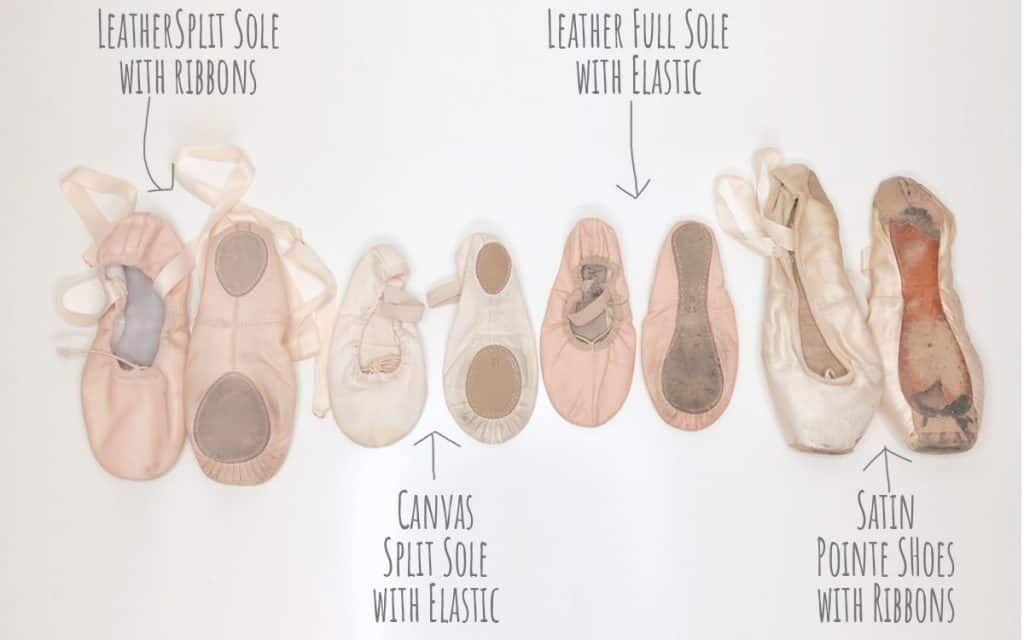 How to sew elastics on to flat ballet