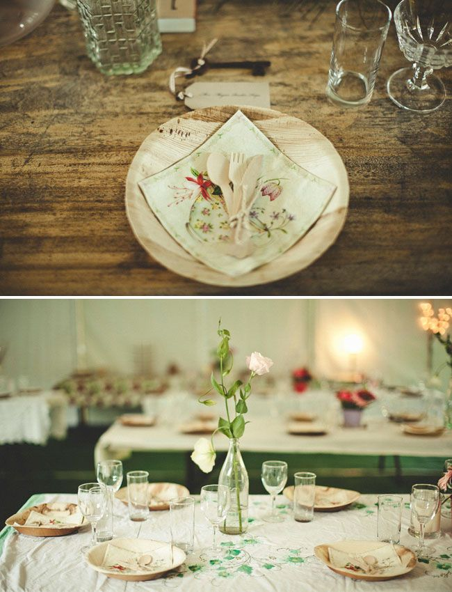 So Many Cute Ways To Use Eco Friendly Disposable Ware At Weddings Look This One