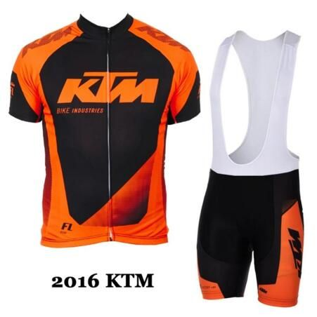 Completo ciclismo//Cycling Jersey and pants Team KTM White