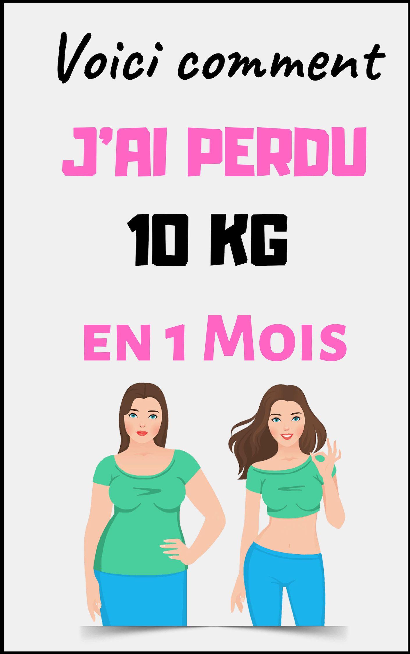comment perdre du poids dans un mois
