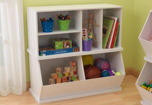 Double Storage Unit - White
