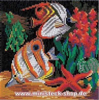 MINISTECK-Fische-mit-Seestern-ca-6-700-Teile-NEU