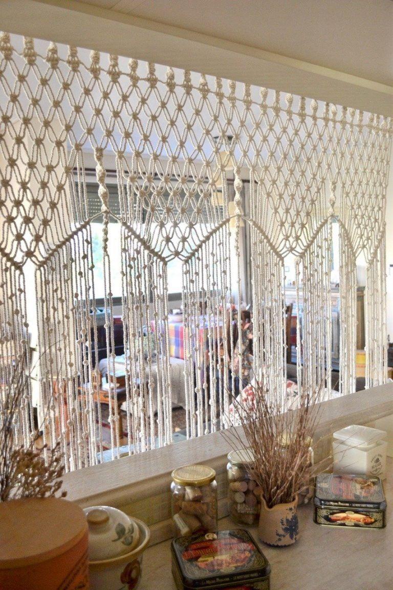 Beautiful Macrame designs Diy room divider, Macrame wall