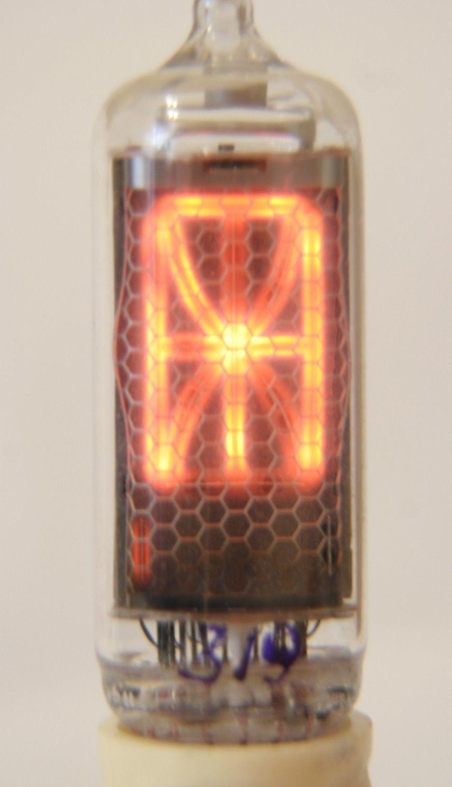 Unic Ultra Rare In 23 Nixie Tube Symbol Alien Font Nixie Tube