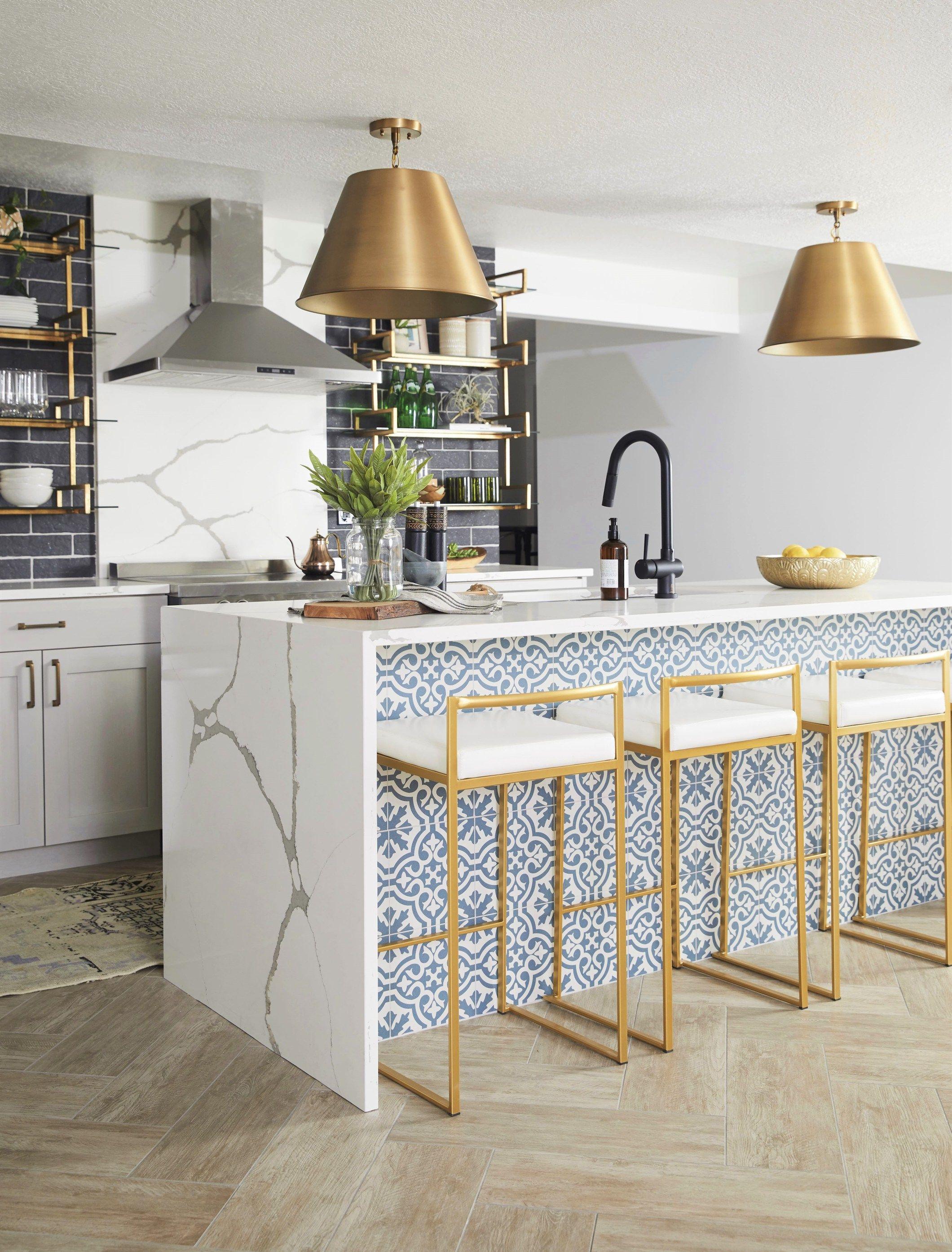 Photo of Cara Loren's Modern Mediterranean | Kitchen Reveal – Andrea West Design