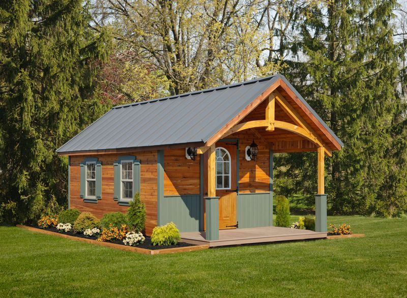 185 Best Playhouse Camping Cabin Sheds Images On Pinterest Small