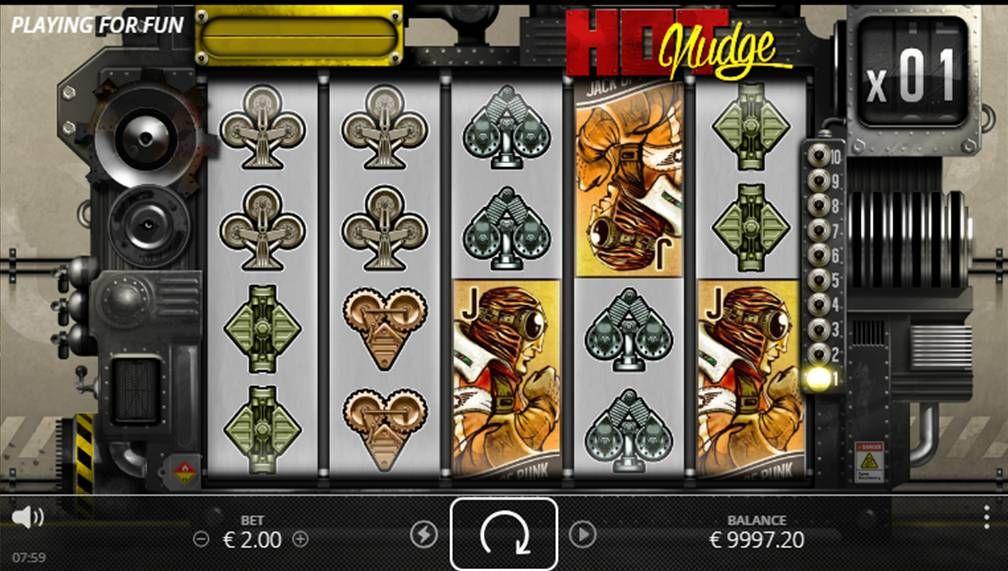 Hot Nudge Slot Machine