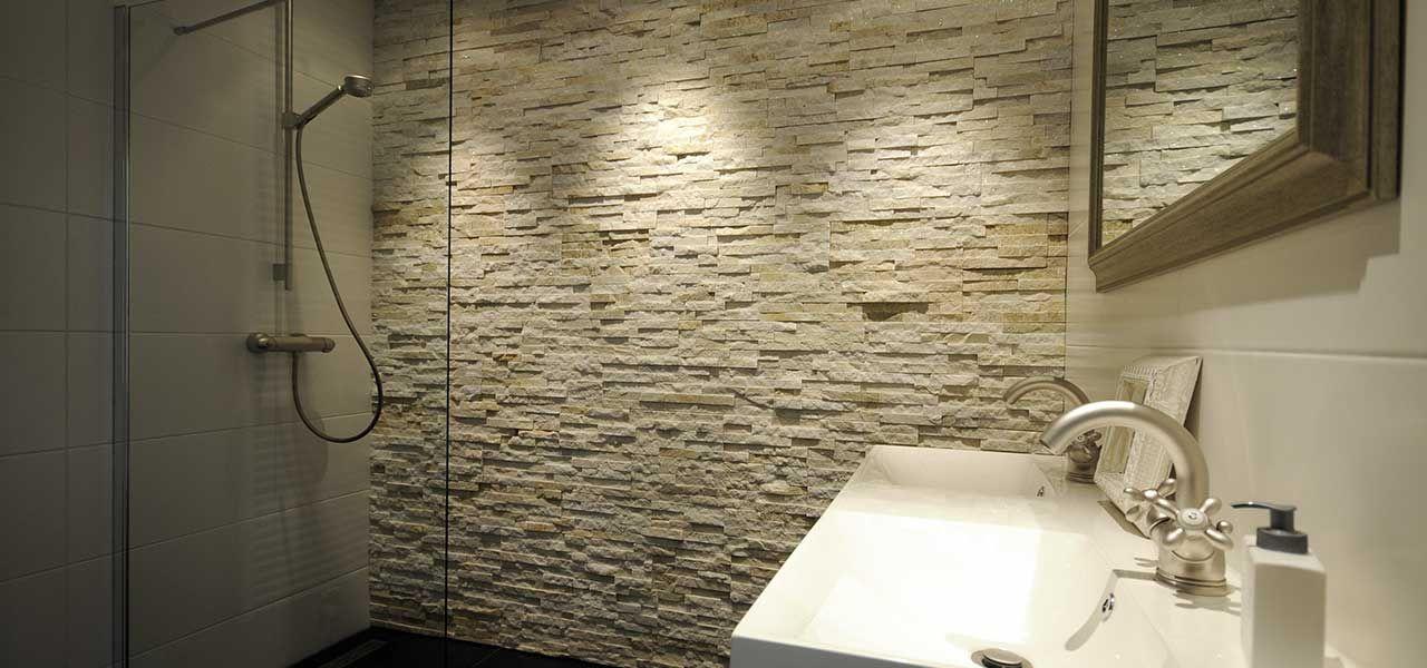 Barroco Natuursteenstrips, Steenstrips, Glamour Gold, Wand bij ...