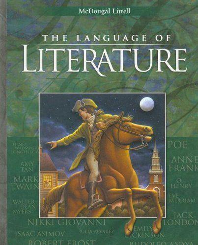 McDougal Littell Language Of Literature Student Edition