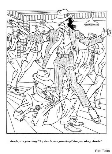 Michael jackson coloring pages free printable enjoy coloring mj things pinterest - Coloriage michael jackson ...