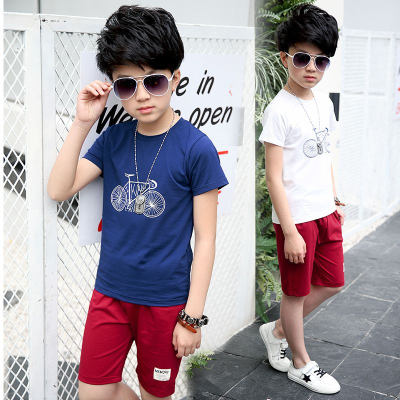 8298121a0 2017 Baby Boys Clothes Suits for Boys 5 6 7 8 9 10 11 12 13 14 Years ...