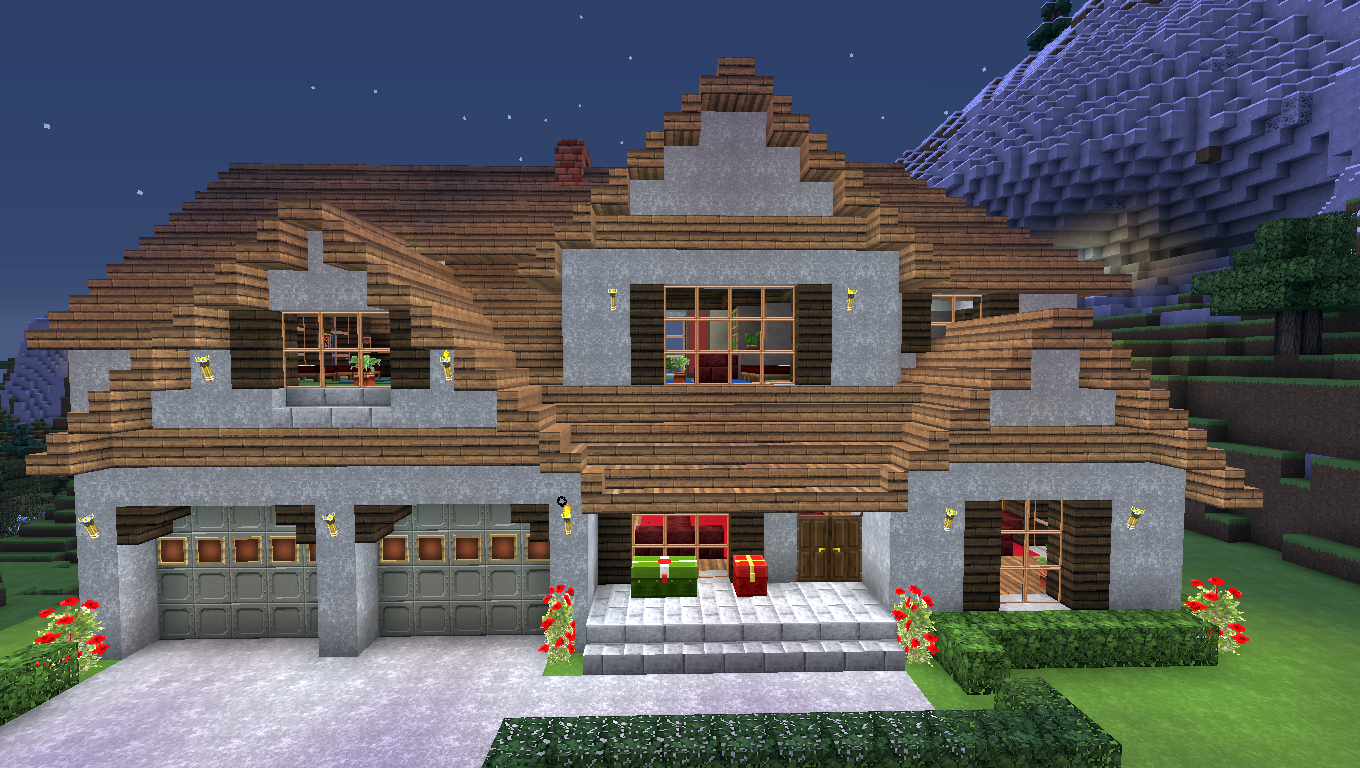Modeled After A House For Sale Where I Live 12 Minecraft Houses For Girls Minecraft Houses Minecraft Construction