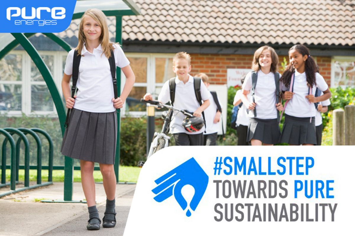 Take a #smallstep Toward Sustainability For a Chance To Win 1 of 10 PURE Solar Backpack Prizes Stuffed With $500! http://ow.ly/AJuUI