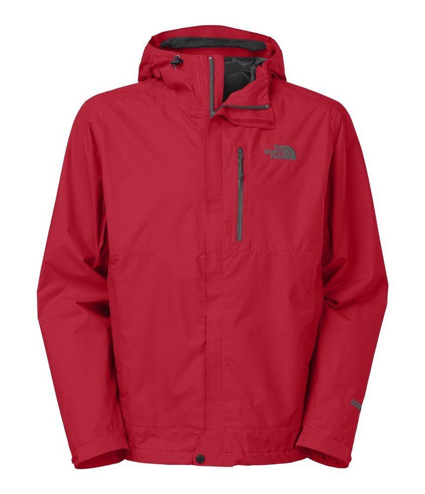 The north face menus dryzzle jacket rain coat shell goretex