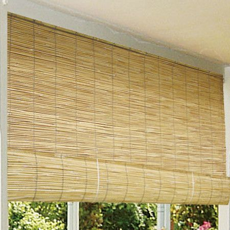 Bamboo Roll Up Blind Blinds For Windows Blinds Design Patio Blinds