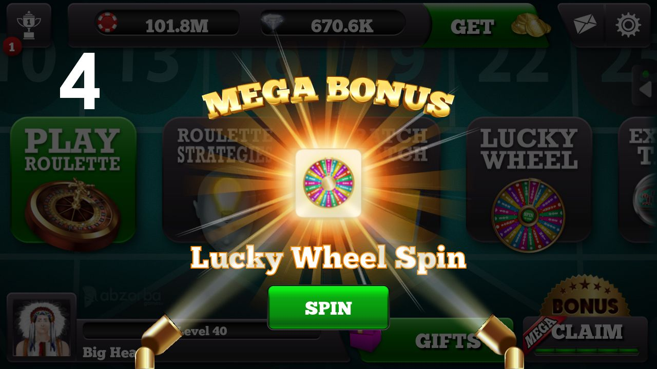 Live Roulette presents Mega Bonus! 4. Just enjoy your prize - Live Roulette is available for free - IOS  Android - Live Multiplayer www.abzorbagames.com #Roulette #Games #Free