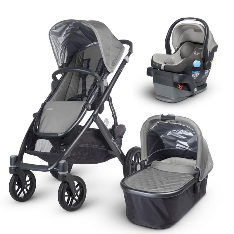 UPPAbaby 2017 Vista Travel System with Mesa Car Seat