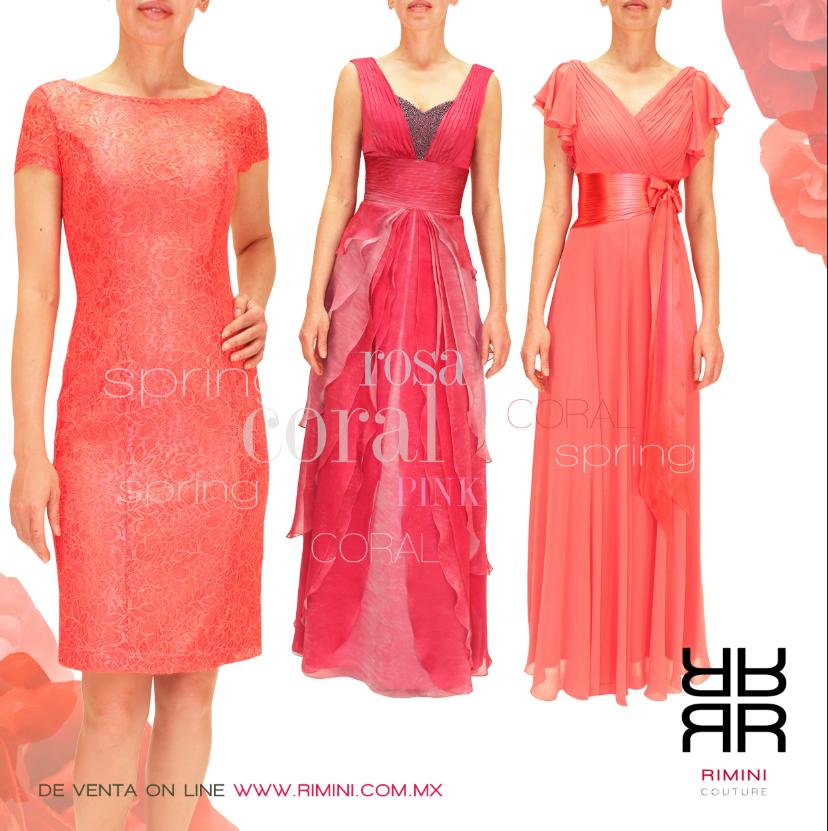 ee04d5f321  vestidos de Fiesta gala o cocktail  graduaciones 2014  coral