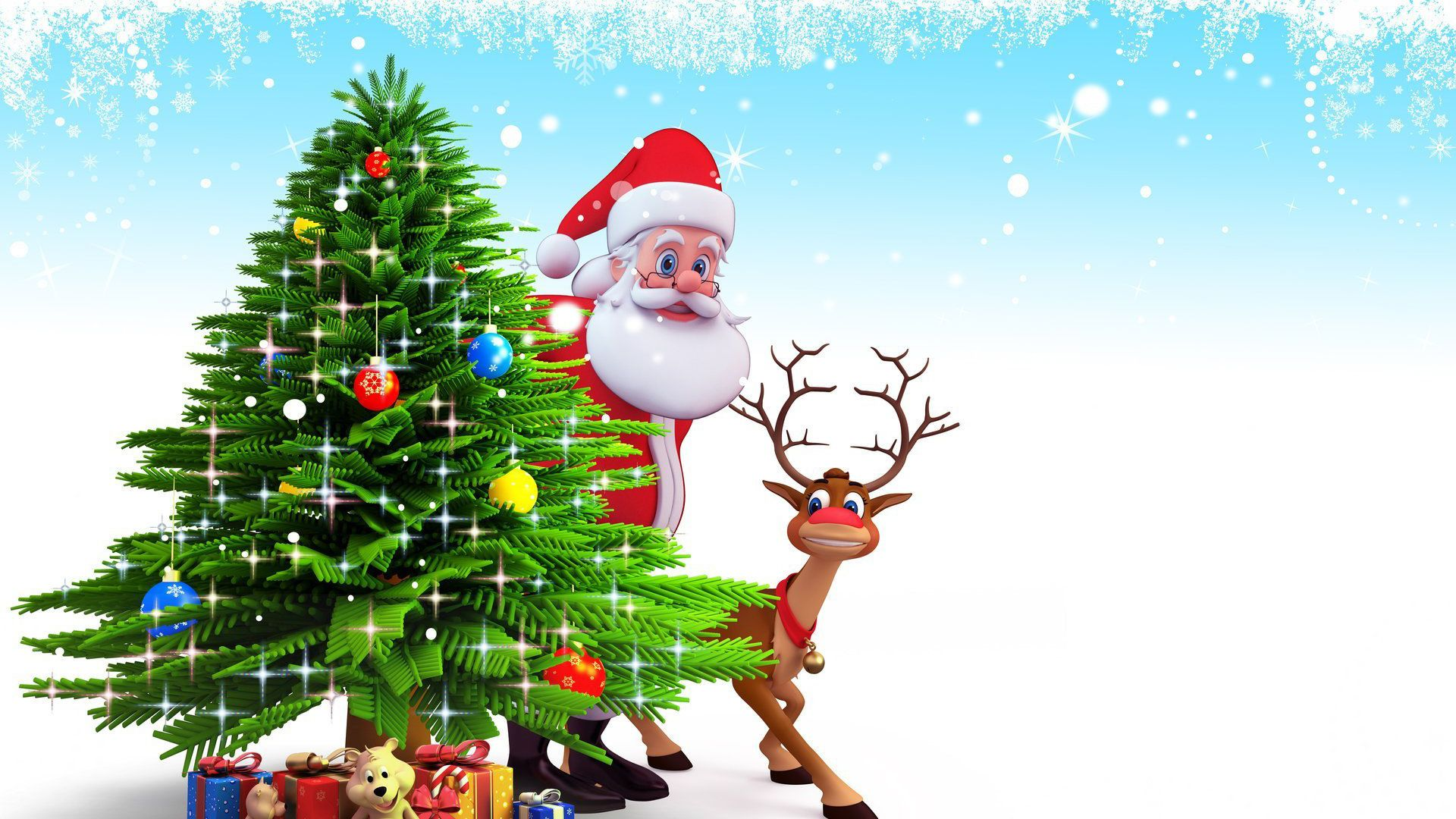 Christmas Santa Claus Wallpaper1920 X 1080