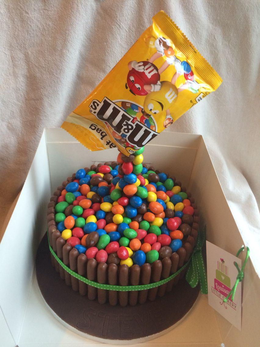 Peanut M M S Gravity Cake Recettes Sucrees Recette