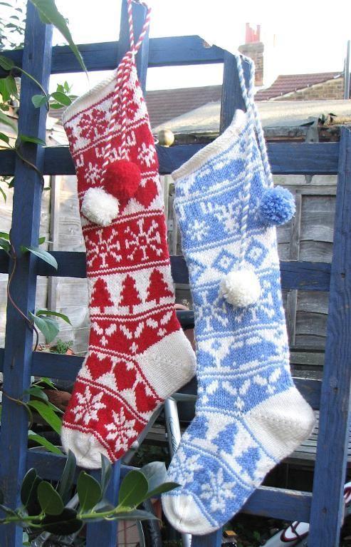 knit christmas stocking   Sleipnir Christmas Stockings by Erssie ...
