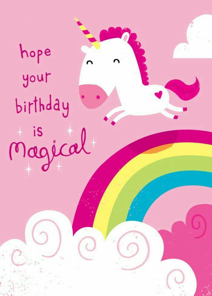 Pin by Teresa Fisher on Happy Birthday | Unicorn birthday ...