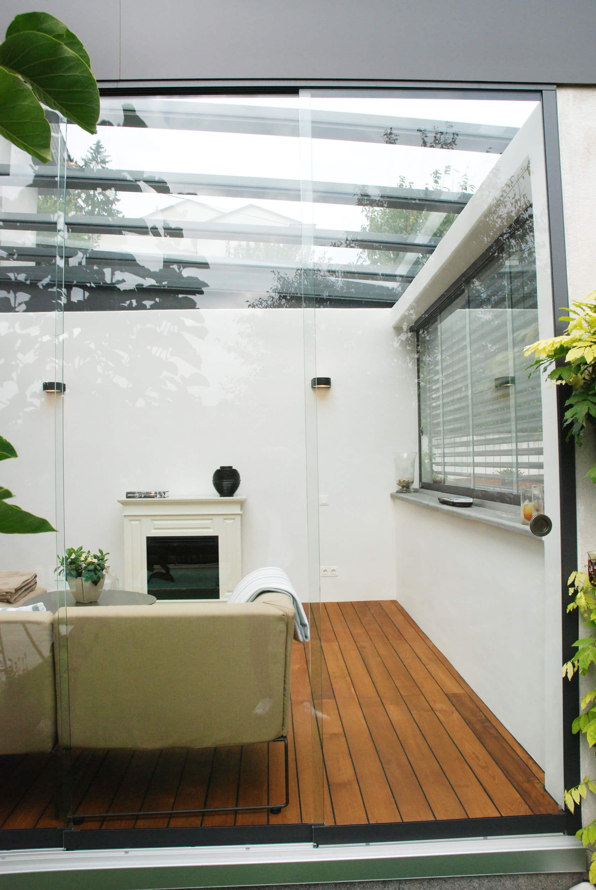 Schiebetüren ohne Rahmen für Außenbereiche | Glasschiebetüren ...