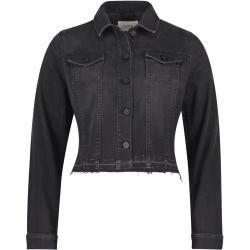 Plein Sud Jeansjacke/-mantel Damen Plein Sudplein Sud #leatherjacketoutfit
